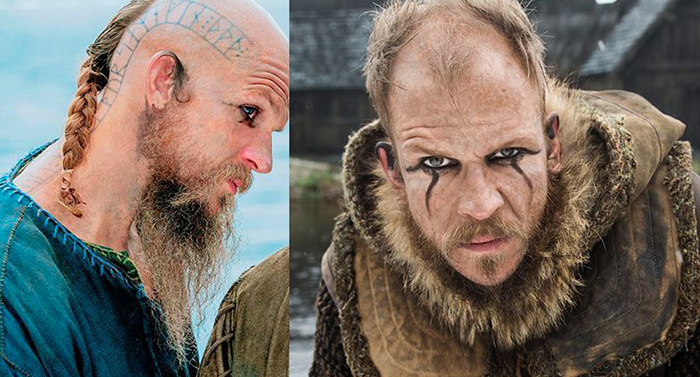 significado tatuajes loki serie vikings