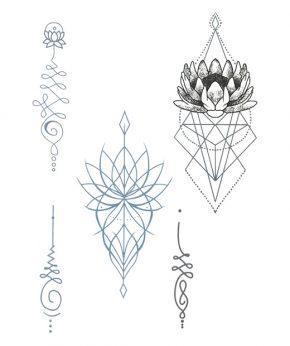 tatuaje temporal breath in feel tattoo