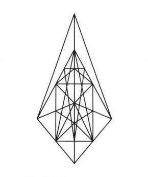 tatuaje temporal centro geometrico feel tattoo