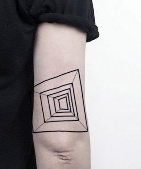 tatuaje temporal perspectiva modelo feel tattoo