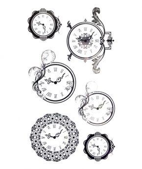 tatuaje temporal relojes feel tattoo