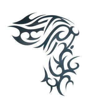tatuaje temporal tribal curvo feel tattoo