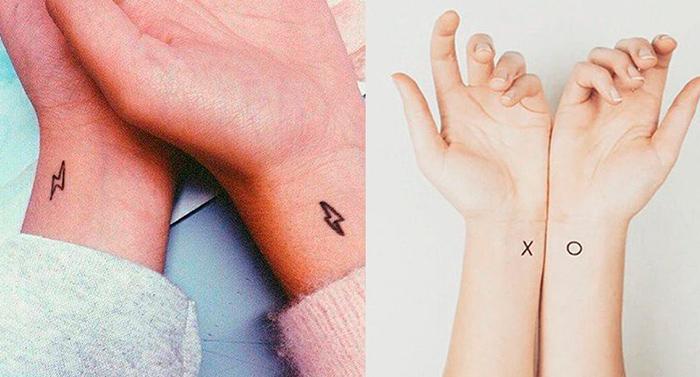 Tatuajes Para Parejas Que Son Tendencia En Instagram 100 Fotos